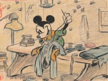 El sastrecillo valiente, una de las obras de arte de 'Disney. El arte de contar historias'