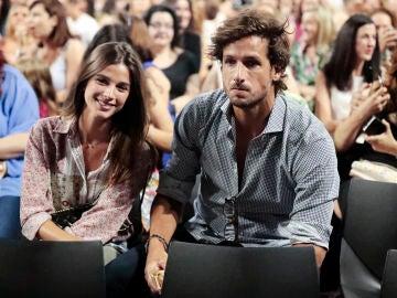 Sandra Gago y Feliciano López disfrutan del concierto de Alejandro Fernández en Madrid