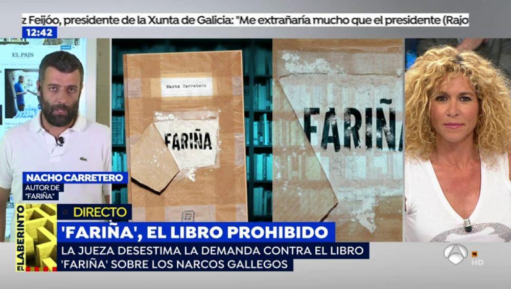 """Nacho Carretero: """"A algunos narcos les molestó no salir en 'Fariña'"""""""