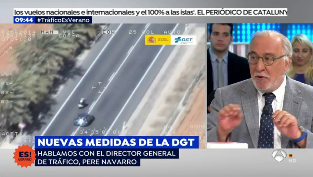 """Pere Navarro: """"La lucha por la seguridad vial ha bajado en prioridad, asciende la cifra de muertos"""""""