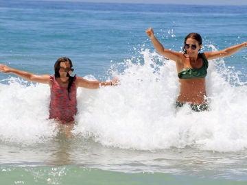 Paula Echevarría y su hija Daniella