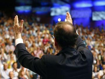 El presidente del Partido Popular, Mariano Rajoy