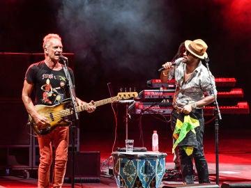 """Sting y Shaggy se coronan en Starlite con un """"sold out"""""""