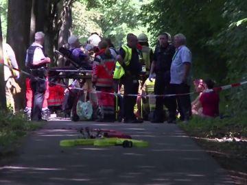 Ocho heridos en un ataque de un hombre armado con un cuchillo en la ciudad alemana de Lübeck