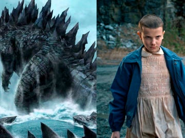 Millie Bobby Brown y 'Godzilla'