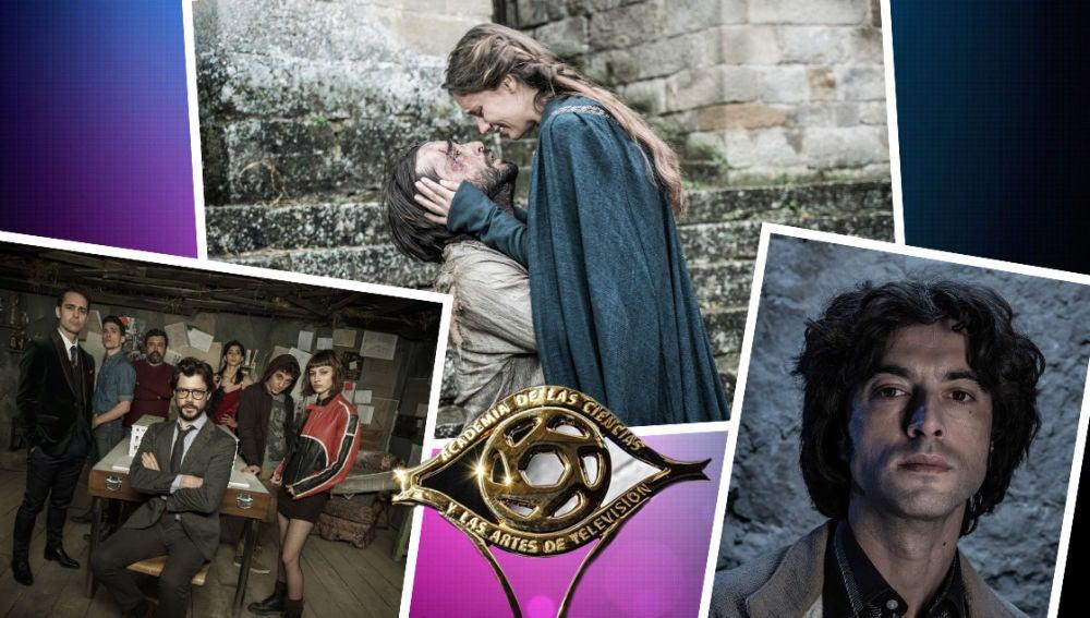 Las ficciones de Series Atresmedia triunfan en las nominaciones a los Premios Iris 2018