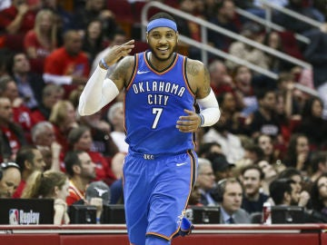 Carmelo Anthony, con los Thunder