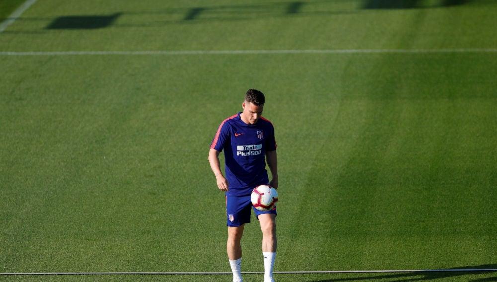 Gameiro, con el Atlético