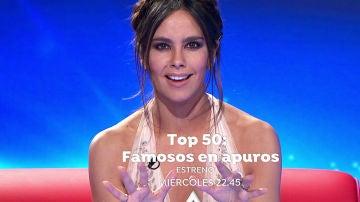 El miércoles, estreno de 'Top 50: famosos en apuros' con Cristina Pedroche en Antena 3