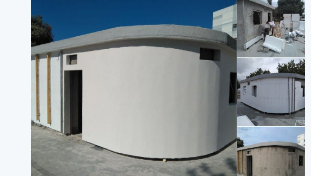 Antena 3 tv una empresa valenciana construye la primera for Construye tu casa en 3d