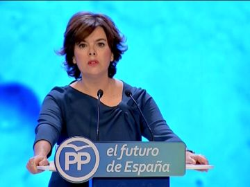 """Santamaría pide respetar el voto de los afiliados: """"Yo no estaría en esta tribuna si no fuera la más votada"""""""