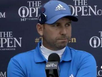 """El cabreo de Sergio García tras caer en el British Open: """"No sé si he perdido la ilusión"""""""