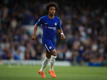 Willian, con el Chelsea