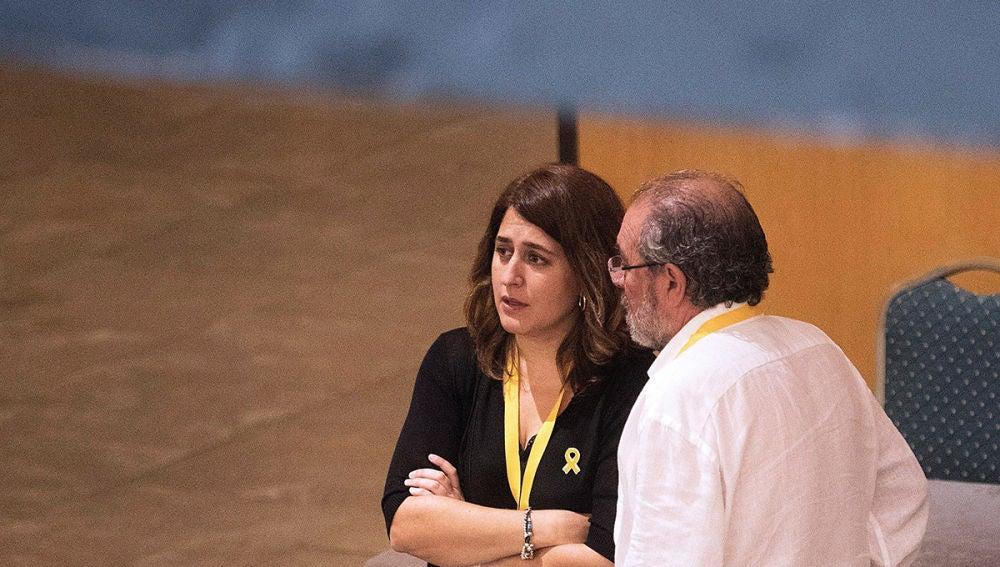 Imagen de Marta Pascal en el último día de la Asamblea del PDeCat