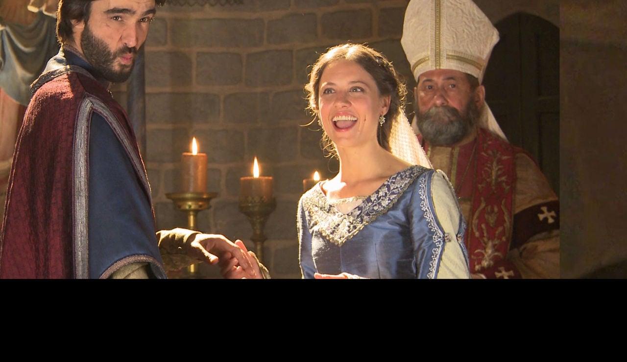 Lo que no viste en TV de la esperada boda de Arnau y Mar super 3