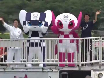 Japón presenta a Miraitowa y a Someity, las mascotas de los Juegos Olímpicos de Tokio 2020