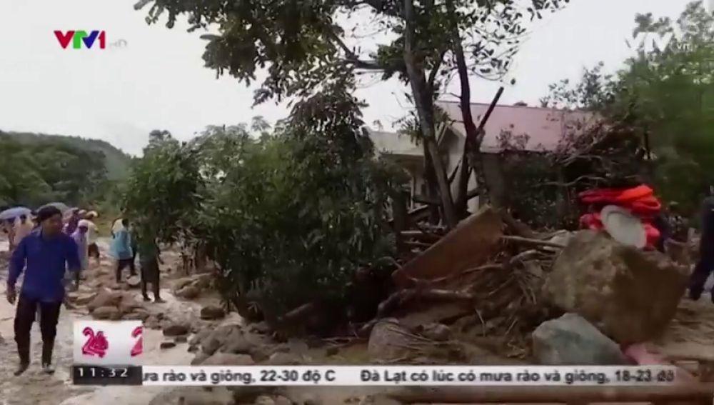 Al menos 20 muertos y 16 desaparecidos en las inundaciones en Vietnam