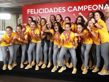 La selección española de fútbol femenino sub19