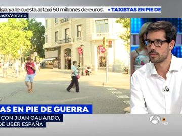 """Director de Uber España: """"Queremos que el taxi, más que enemigo, sea un socio"""""""