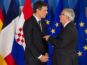 Sanchez y Juncker