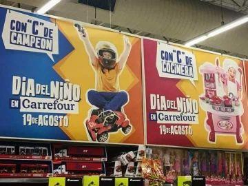 Campaña sexista de Carrefour