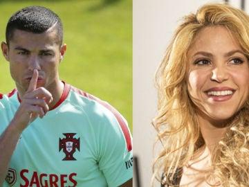 Cristiano Ronaldo y Shakira