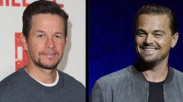 Mark Wahlberg  y Leonardo DiCaprio