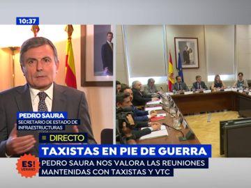 """Pedro Saura, secretario de Estado: """"Queremos ofrecer la mejor calidad de los servicios para el ciudadano"""""""