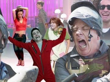 Revivimos los momentos más alegres vividos en Antena 3 para celebrar el Día Internacional de la Alegría