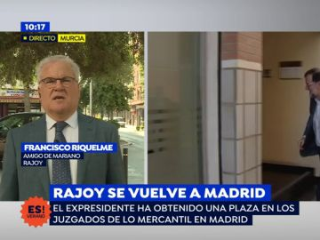 """Amigo del expresidente: """"Rajoy se ha mantenido neutral en las primarias como dijo"""""""