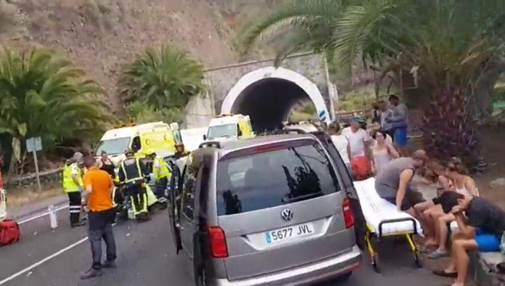 Un hombre de 31 años ha fallecido en una colisión frontal en Tenerife