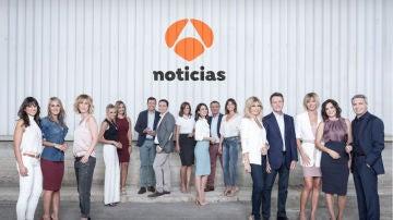 El equipo de Antena 3 Noticias al completo