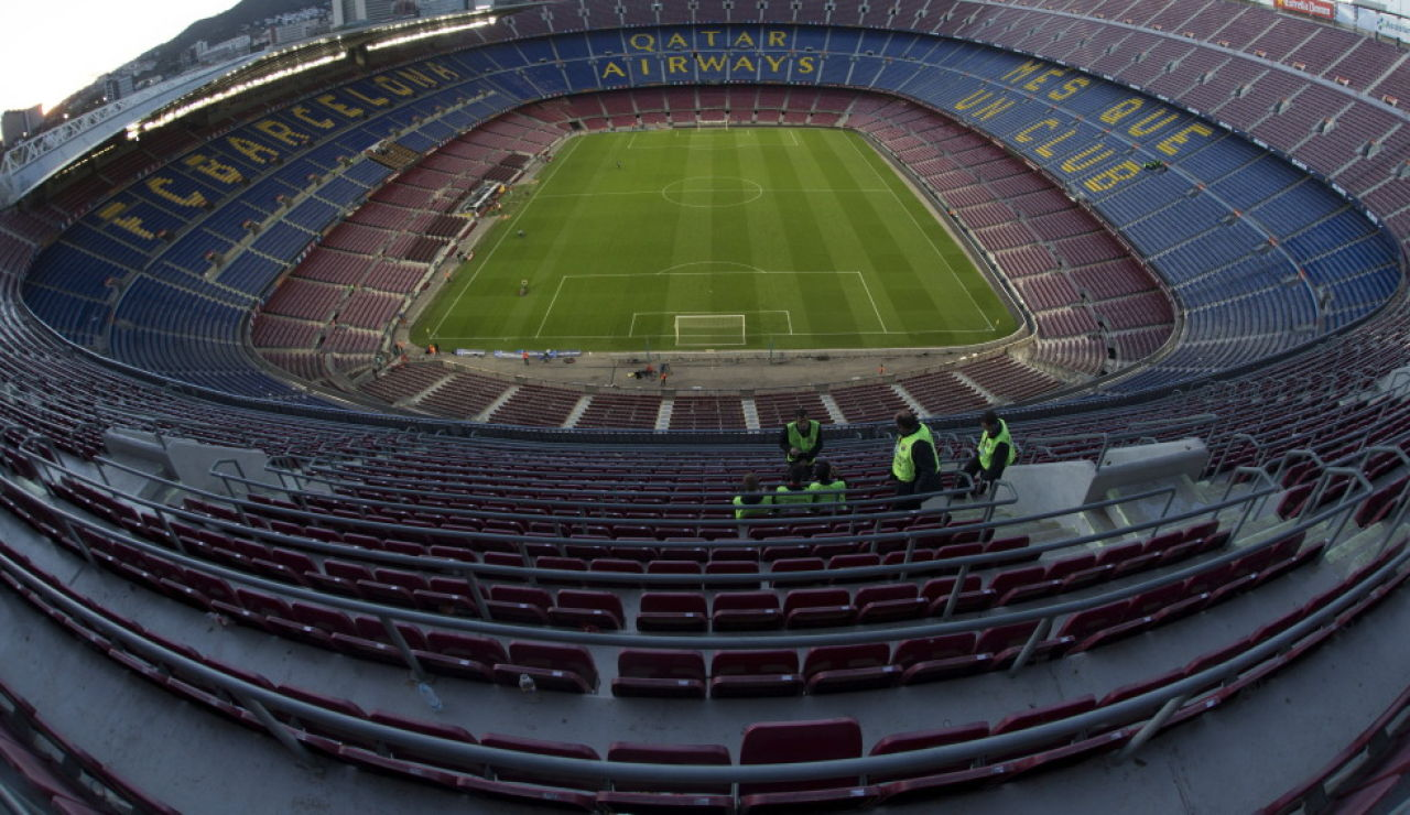Camp Nou, estadio del Barcelona