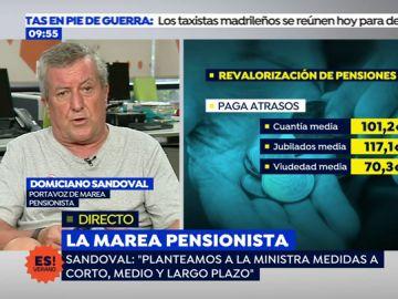 """Portavoz de 'Marea Pensionista': """"No estamos contentos al cien por cien de la reunión"""""""