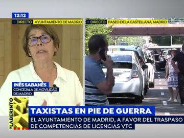 """Inés Sabanés, concejal de Movilidad: """"No pensar en los usuarios es 'cargarse' un servicio fundamental en las ciudades"""""""