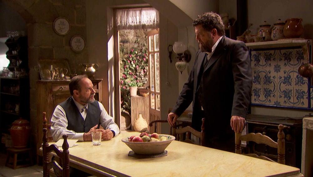 """Raimundo discute con Mauricio: """"Me miras de manera extraña desde que volvimos de Monteolvido"""""""