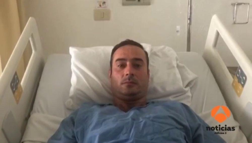 """El español herido en el accidente de avión de México: """"Fue un caos, todo el mundo gritaba y el equipaje volaba y te golpeaba"""""""