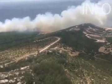Detrás de la mayoría de los incendios investigados está la mano del hombre