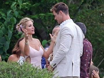 Elsa Pataky junto a Chris Hemsworth