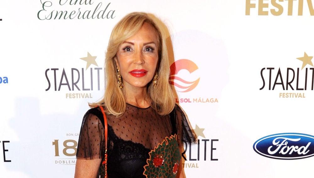 Carmen Lomana celebra su 70 cumpleaños en el Starlite de Marbella