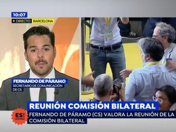 """Fernando de Páramo: """"El precio del apoyo independentista a Sánchez lo pagamos todos"""""""