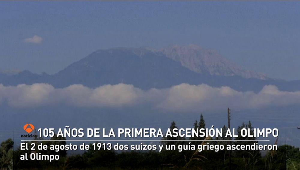 105 años de la primera ascensión al templo de los dioses