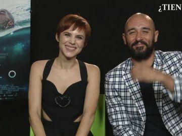 Alain Hernández y Aura Garrido te dan, en menos de un minuto, tres razones por las que ver 'Solo'