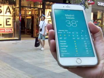 Negocios vacíos por la ola de calor en España