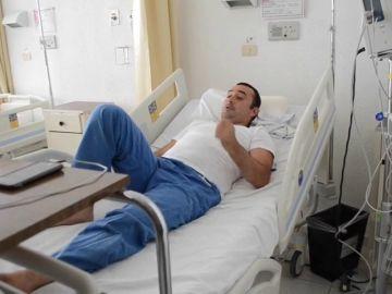 """El """"héroe de Durango"""" abandona el hospital"""