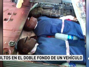 Encuentran a dos inmigrantes en los bajos de un vehículo en Melilla