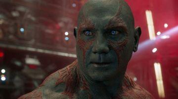 Dave Bautista, Drax en 'Guardianes de la Galaxia'