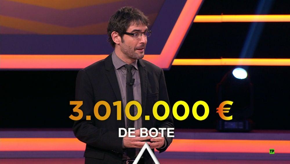 El equipo ganador de '¡Boom!' se llevará el bote más grande de la televisión: más de 3 millones de euros