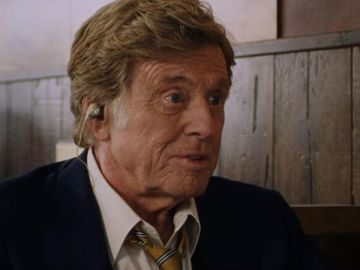 Robert Redford en 'Old man and the gun'