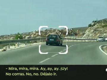 Así fue el trayecto del conductor que sembró el pánico en Málaga
